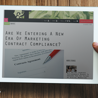 Are we entering a new era  of marketing  contract compliance?